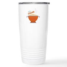 100% Italian Travel Mug