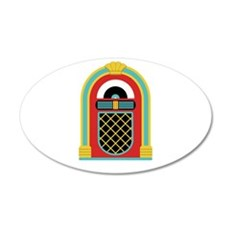 48. Jukebox Music Oldies Rock Roll Wall Decal