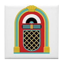 48. Jukebox Music Oldies Rock Roll Tile Coaster