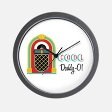 COOL Daddy-O! Wall Clock