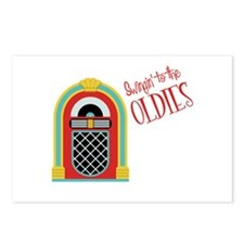 Swingin to the OLDIES Postcards (Package of 8)