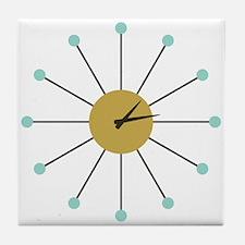 Time Capsule Atomic Clock Tile Coaster