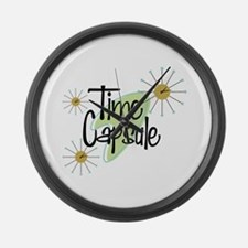 Time Capsule Large Wall Clock