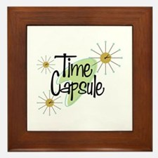 Time Capsule Framed Tile