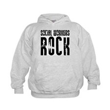 Social Workers Rock Hoody