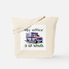 EMT ambulance Tote Bag