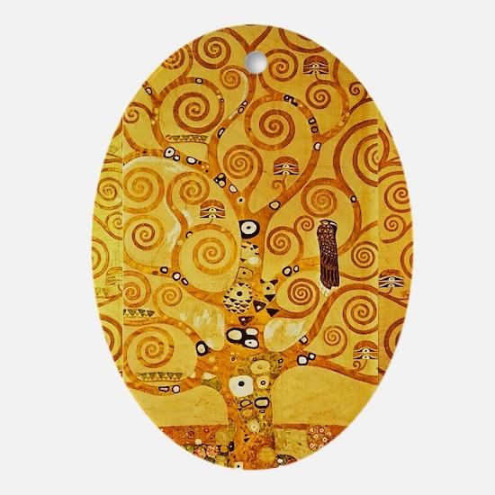 Gustav Klimt Tree of Life Art Nouveau Ornament (Ov