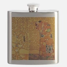 Gustav Klimt Tree of Life Art Nouveau Flask