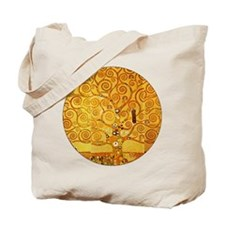 Gustav Klimt Tree of Life Art Nouveau Tote Bag