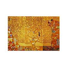Gustav Klimt Tree of Life Art Nouveau Magnets