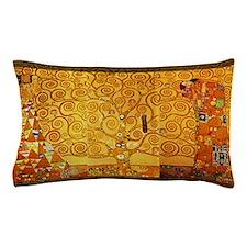 Gustav Klimt Tree of Life Art Nouveau Pillow Case