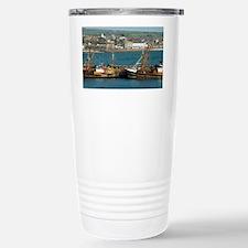 Newlyn harbour Stainless Steel Travel Mug
