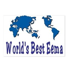 World's Best Eema Postcards (Package of 8)