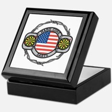 USA Hard Core Darts Keepsake Box