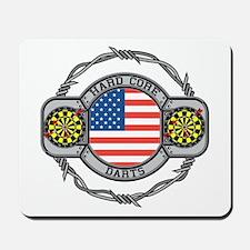 USA Hard Core Darts Mousepad