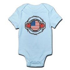 USA Hard Core Boxing Infant Bodysuit