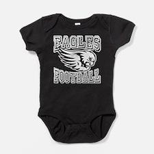 Eagles Football Baby Bodysuit