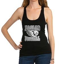 Eagles Football Racerback Tank Top