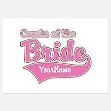 Cousin of the Bride Invitations
