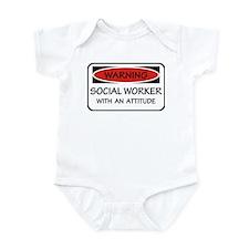 Attitude Social Worker Infant Bodysuit