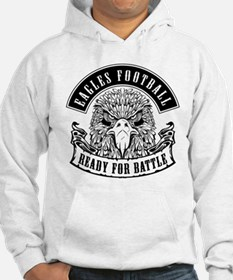 Eagles Football Ready for Battle Hoodie
