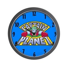 Captain Planet Wall Clock
