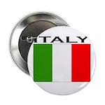 Italy Flag II Button