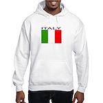 Italy Flag II Hooded Sweatshirt