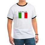Italy Flag II Ringer T