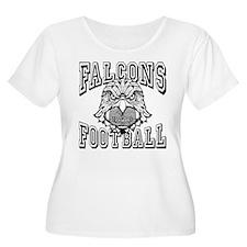 Falcons Football Plus Size T-Shirt