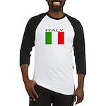 Italy Flag II Baseball Jersey