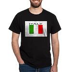 Italy Flag II Dark T-Shirt