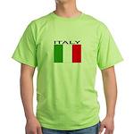 Italy Flag II Green T-Shirt