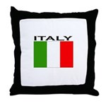 Italy Flag II Throw Pillow