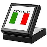 Italy Flag II Keepsake Box