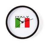 Italy Flag II Wall Clock