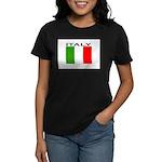 Italy Flag II Women's Dark T-Shirt