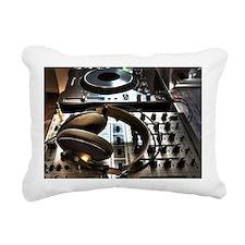 musica cascos Rectangular Canvas Pillow