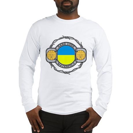 ukraine hard core water Long Sleeve T-Shirt