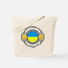 ukraine hard core water Tote Bag