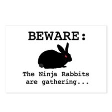 Ninja Rabbits Postcards (Package of 8)