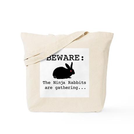 Ninja Rabbits Tote Bag