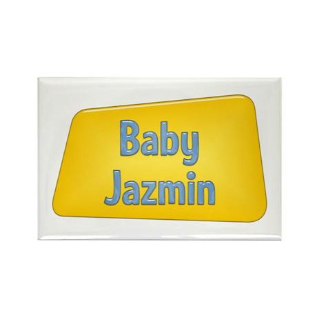 Baby Jazmin Rectangle Magnet (10 pack)