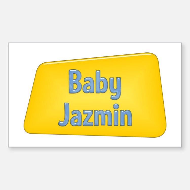 Baby Jazmin Rectangle Decal