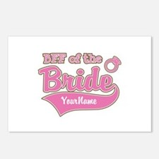 BFF of the Bride Postcards (Package of 8)