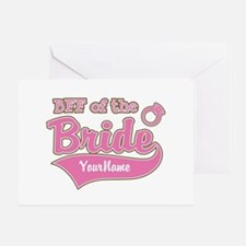 BFF of the Bride Greeting Card