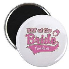 """BFF of the Bride 2.25"""" Magnet (10 pack)"""
