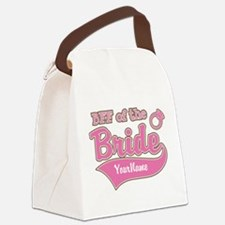 BFF of the Bride Canvas Lunch Bag
