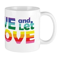 Live Let Love TX Mug