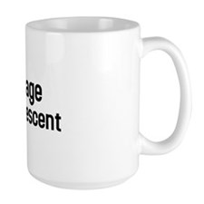 I'm of teenage mutant ninja descent Mug
